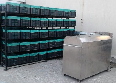 Batch Type Organic Waste Converter